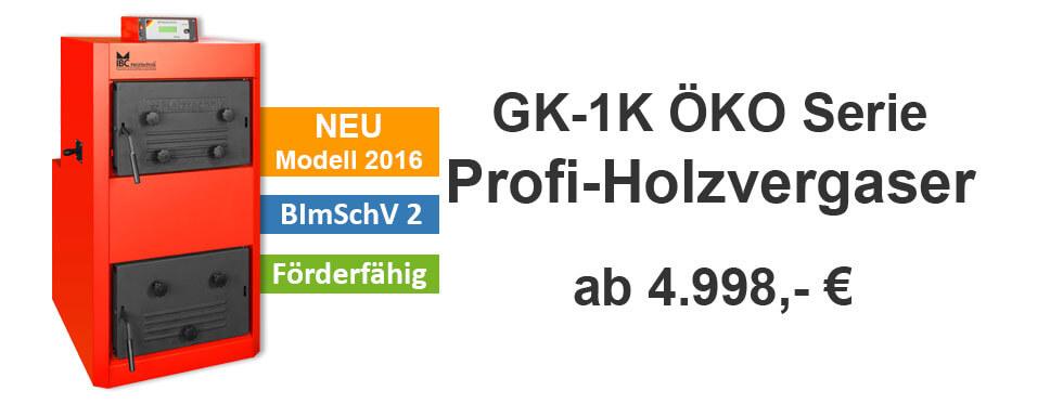 IBC GK1 Scheitholzkessel